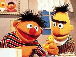 rubber sts sesame bert and ernie
