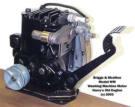 Briggs Amp Stratton Washing Machine Gasoline Engine