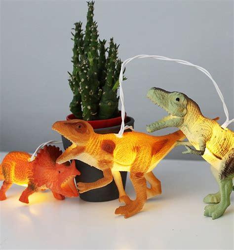 Natural Dinosaur String Lights Dinosaur String Lights