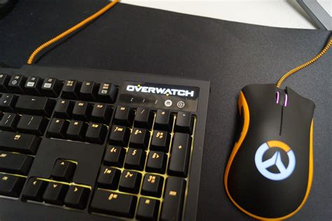 Razer Blackwidow Chroma Overwatch Edition Keyboard Gaming 2 on razer overwatch blackwidow and deathadder chroma gamecrate