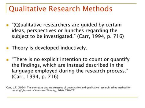 qualitative research methods themes ppt building the body of knowledge module 2 class 3 a