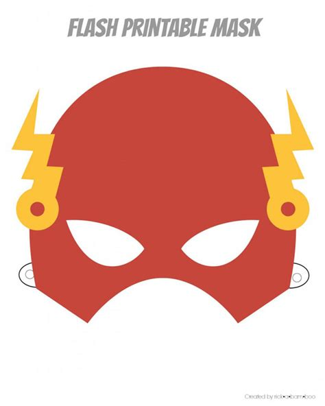 printable mask free printable hero masks