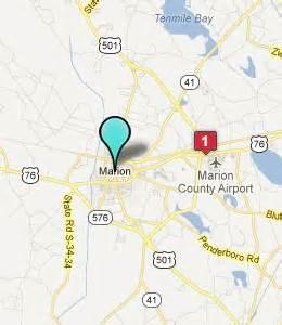 marion carolina map hotelguides