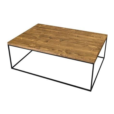 Industrial Style Coffee Table Redwood Ii Industrial Style Pine Wood Coffee Table Coffee Tables Home Furniture
