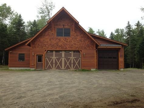 barn garage vermont barns garages custom homes john j read