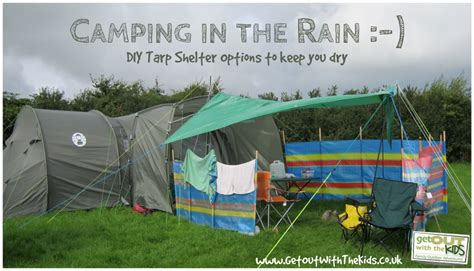 How To Build A Tarp Shed by Using A Tarp With Your Tent Stay While Cing