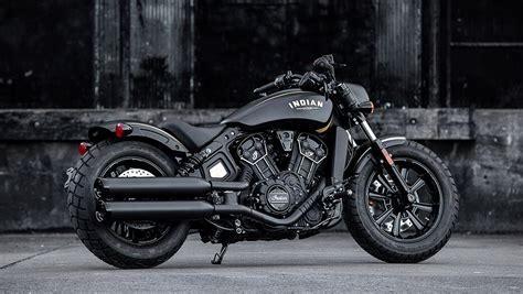 Motorrad India by 2018 Jack Daniel S Limited Edition Indian Scout Bobber