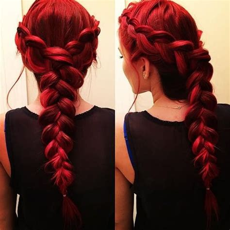 hair plats with color 8 romantic french braided hairstyles for long hair you