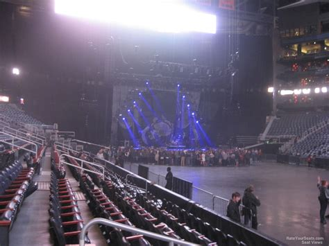 arena section philips arena section 113 concert seating rateyourseats com