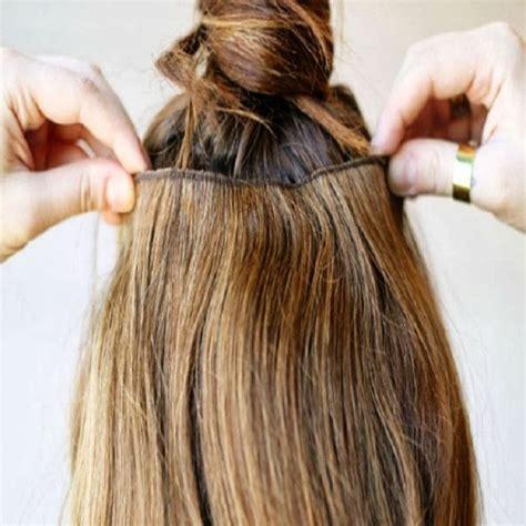 hair extensions procedure indus hair extensions sewing procedure of hair extensions