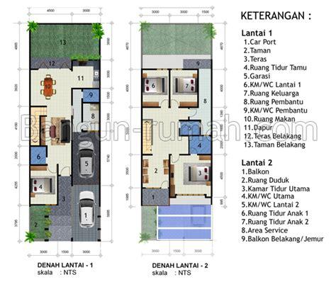 desain rumah minimalis 2 lantai di lahan 7 5 m x 23 m2 studio desain rumah jakarta