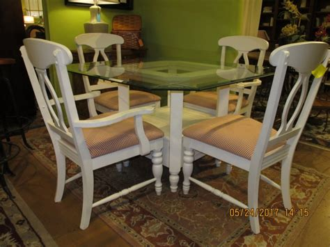 broyhill dining room table four chairs at the missing piece