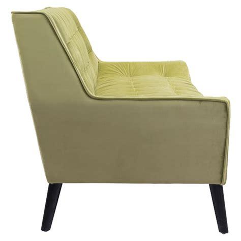 nantucket sofa tufted green velvet dcg stores