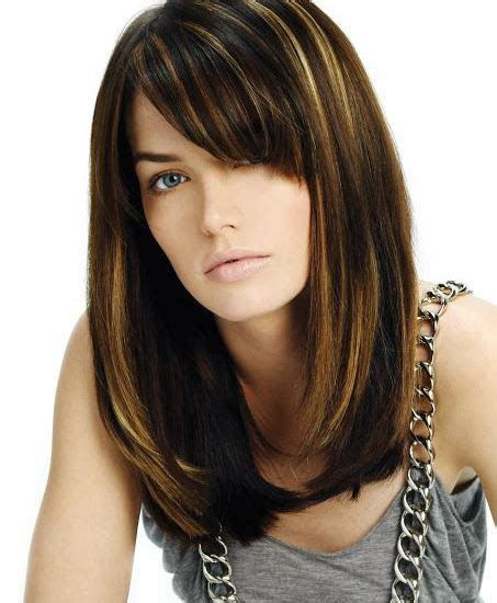 lob hairstyle pictures with bangs 20 different long bob with bangs