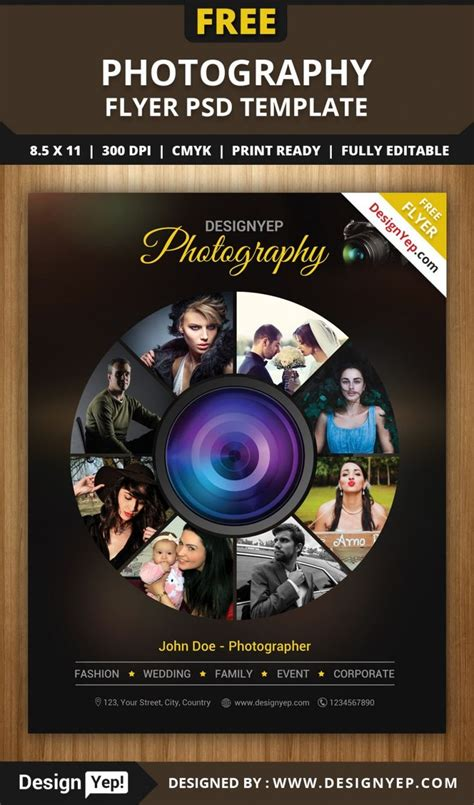 photography brochure templates free 64 best images about free flyers on flyer