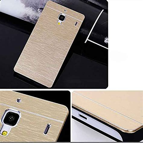 Motomo Ino Metal Xiaomi Redmi Note Alumuniumhardcasehard xiaomi 1s redmi motomo 2 ino metal back cover gold style shop at low cost