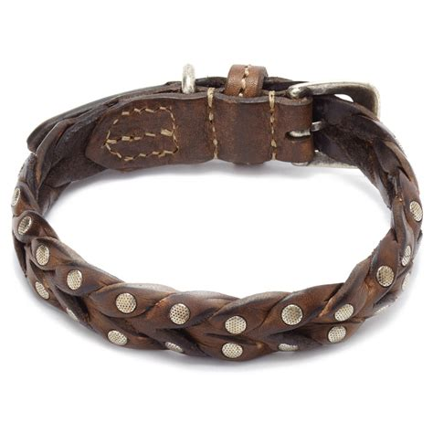 studded leather collars malucchi studded leather collar lead the walk