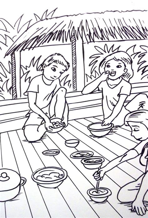 thai coloring page by vinnie1982 on deviantart