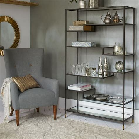 Tiered Bookcase by Tiered Tower Bookcase West Elm