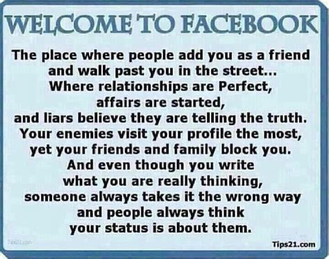 fb quotes thoughts on thursday your most annoying facebook friend