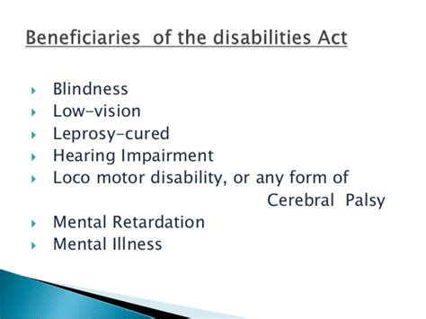 Legal Blindness Disability Rights And Legal Aspects Of Disability In India