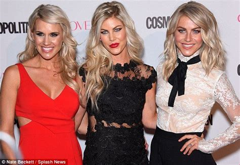 julianne houghs sister sharee hough julianne hough and her sisters dazzle at cosmo party in