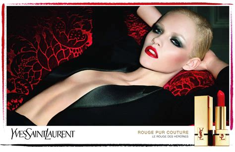 Makeup Ysl by Ginta Lapina By Terry Richardson For Ysl Cosmetics Pur
