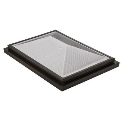 Home Depot Skylights by Sunoptics Prismatic 2 Ft X 3 Ft Fixed Curb Mounted