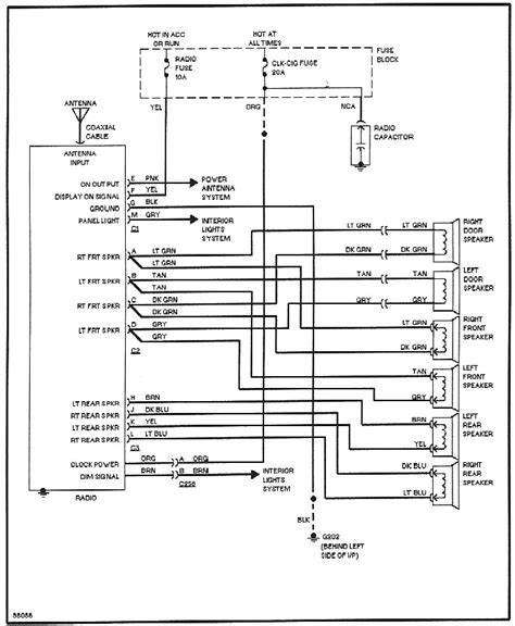1986 buick century wiring diagram wiring diagrams