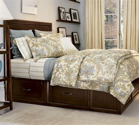 pottery barn stratton bed pottery barn stratton bed with drawers house pinterest
