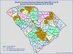 carolina senate district map the south carolina general assembly election districts