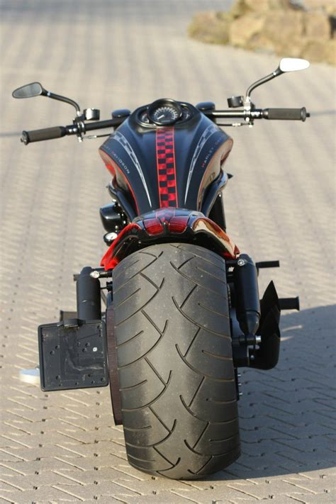 American Chopper Erstes Motorrad by Harley Davidson V Rod With Thunderbike Monocok Stealth And