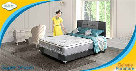 Bed Comforta Sweet harga bed comforta murah gold pedic solid spine