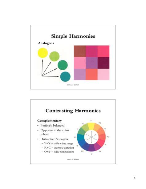 color harmonies color harmony