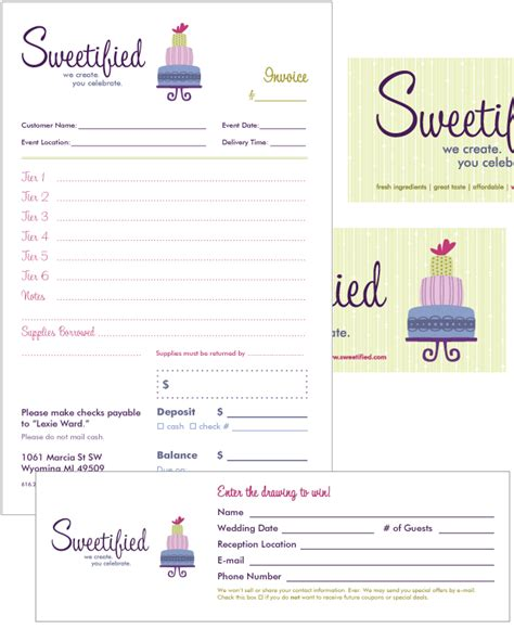Free Invoice Templates Picture Cake Business Pinterest Invoice Template Invoice Design Bakery Invoice Template Word