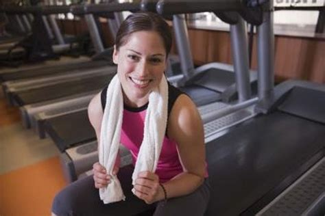 reduce calf size   treadmill woman