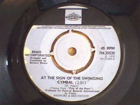 at the sign of the swinging cymbal brass incorporated at the sign of the swinging cymbal