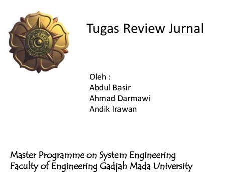 cara membuat jurnal msdm tugas review jurnal