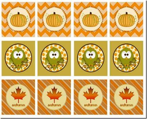 printable autumn name tags 7 best images of cute fall printable tags free fall