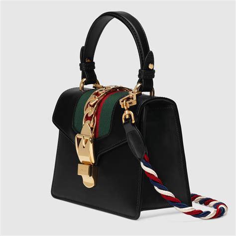 sylvie leather mini bag gucci s handbags