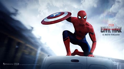 captain america hd wallpaper cave spiderman 2016 wallpapers wallpaper cave