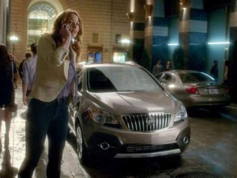 buick commercial actress good for her buick winning sales by poking a little fun in ads
