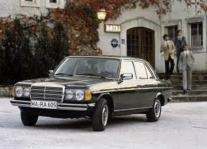 W123 Mercedes Mercedes Celebrates 40th Anniversary Of The Legendary