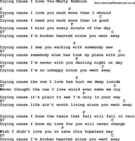 lyrics cause i about my country cause i you marty robbins lyrics