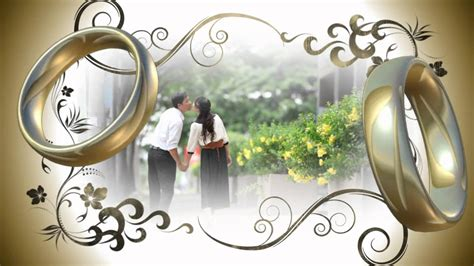 elegant wedding template youtube
