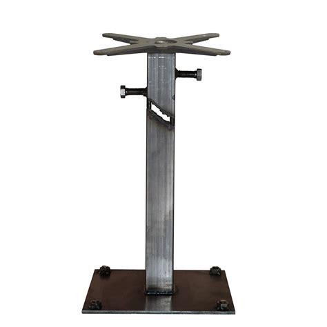 tavoli in ferro frankie tavolo contract in ferro trasparente effetto ruggine