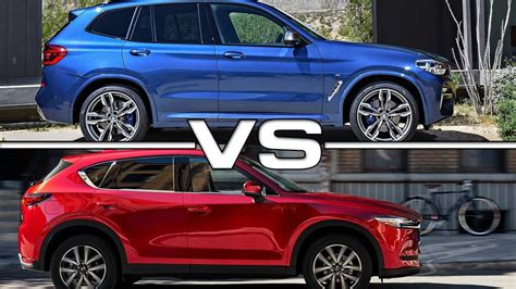 mazda x3 2018 bmw x3 vs 2017 mazda cx 5 youtube