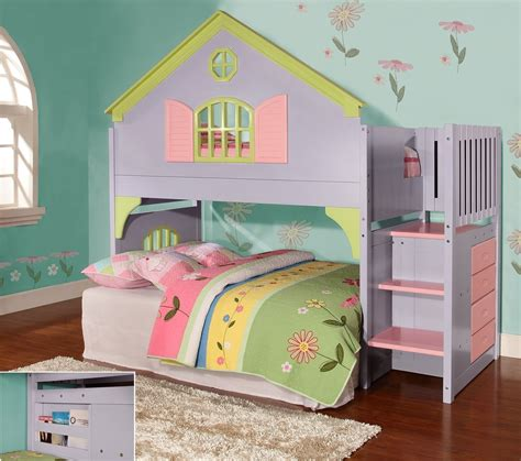 doll house loft bunk bed ten great bunk beds for kids living in a shoebox
