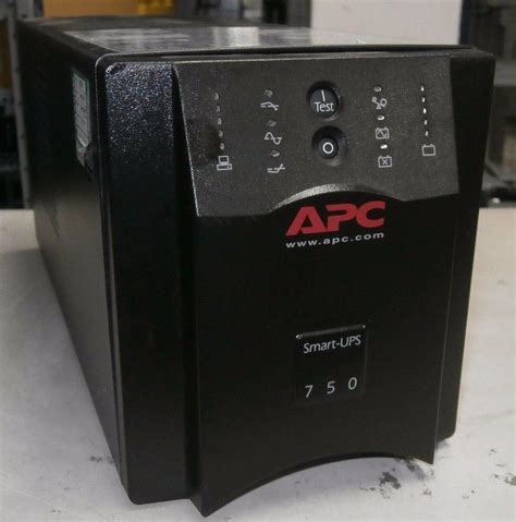 Apc Smart Ups Sua750i Hitam apc smart ups sua 750 va sua750i tower ups with cables