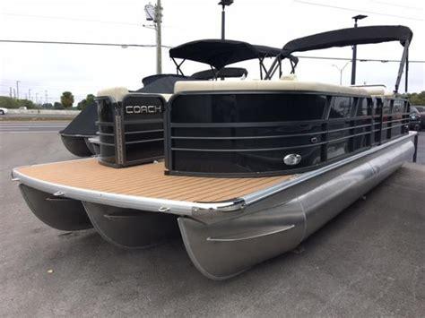 used coach pontoon 2017 coach pontoons 25 rl clearwater florida boats